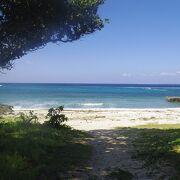 黒島で一番有名なビーチ