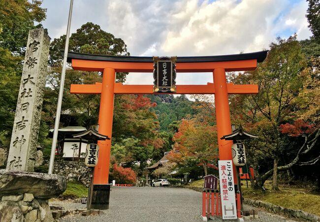 日吉・日枝・山王神社の総本宮