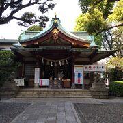 京急蒲田駅の近くに鎮座