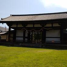 東大寺 転害門