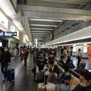 JALは第1ターミナル