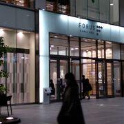 金沢駅に隣接のきれいなモール