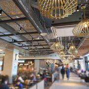(。・`∀´・。)ノ オフィスビルやホテル、劇場・温浴施設・商業施設が集まった便利な複合施設☆彡