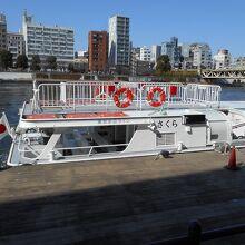 東京水辺ライン カワセミ浅草 日本橋めぐり