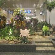 シンガポール チャンギ国際空港の休憩場所