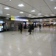 東京駅の中心です