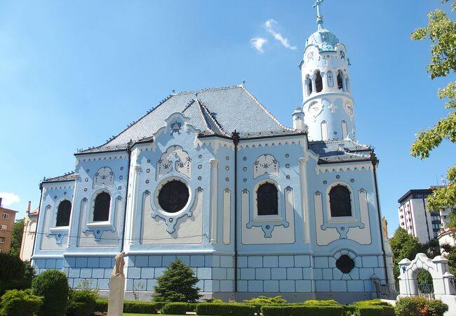 青の教会 (聖アルジュベタ教会)