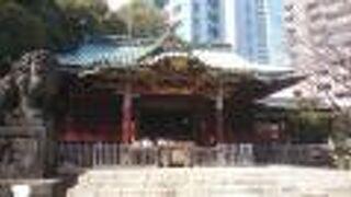 規模の大きさを感じる神社