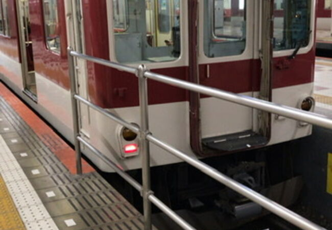 上本町駅から