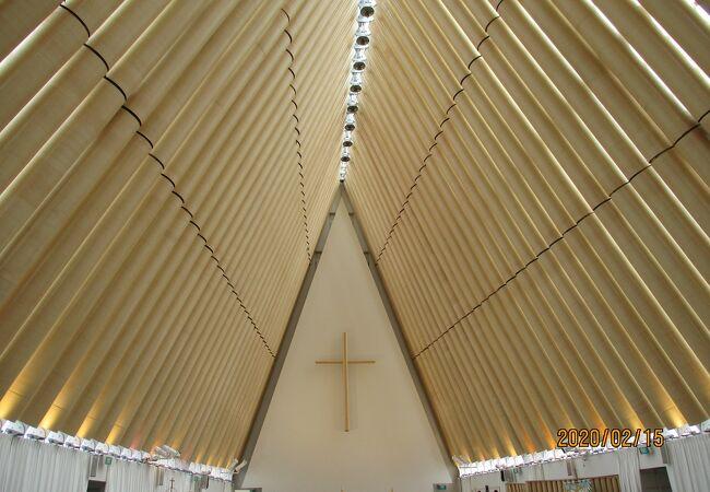仮設の大聖堂