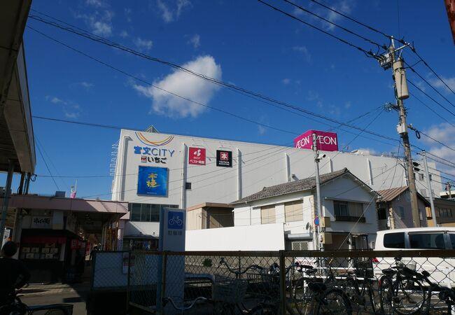 宮崎のバス中心ターミナルにあるSC宮交シティ