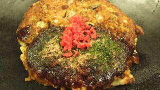 牡蛎のお好み焼き
