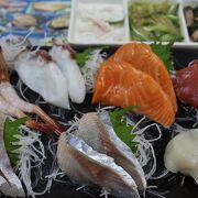 朝7時開店、小樽で海鮮の朝食を