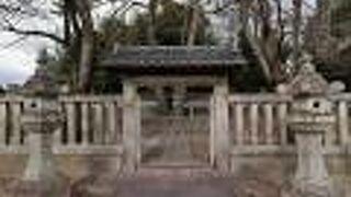 松平氏八代の墓