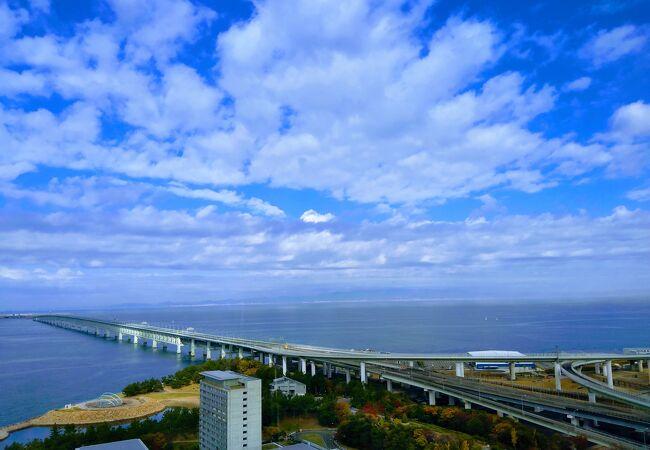 Wifi電波の届かない関西空港連絡橋