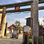 日本で最古の石造鳥居