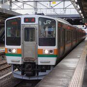 群馬と栃木を東西に結ぶ鉄道路線