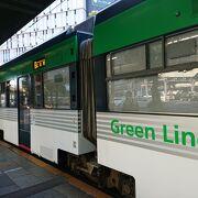 路面電車の広島電鉄
