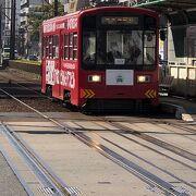 大阪から堺の浜寺まで走る路面電車