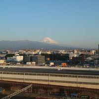 8階の富士山ビューの部屋からの眺め