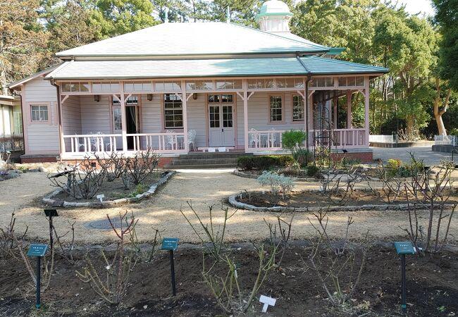 明治時代のクラブハウスを移築