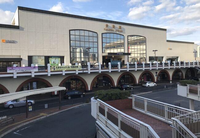 山陽本線倉敷駅:倉敷美観地区へ