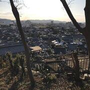 阿智神社(倉敷):高台からの眺め