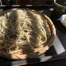 十割蕎麦(大盛り) 1,000円