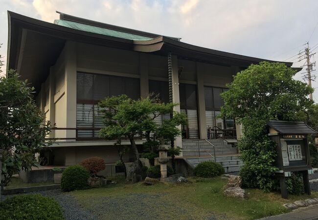掛川城主松平家ゆかりの寺院