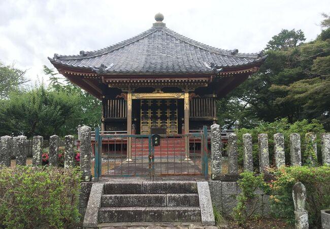 徳川三代将軍家光の霊牌を祀る霊廟