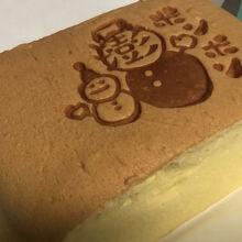 キャラメル味の台湾カステラですq