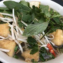 フォー(ベトナム麺)食べました