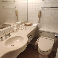 部屋のお風呂とトイレ。 ウォッシュレットあり。