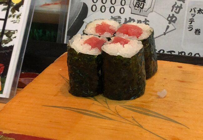 夜中に寿司