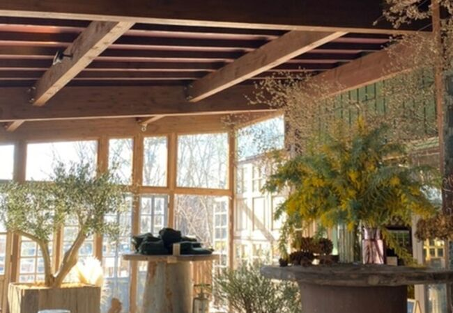 お花屋さんのGAFLO カフェ