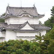 重要文化財の美しい櫓