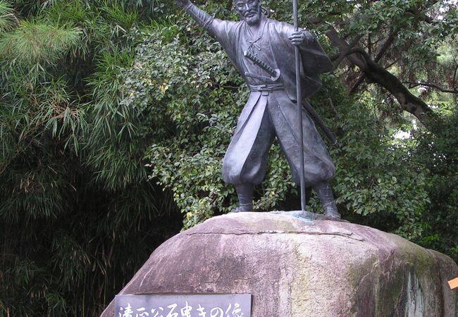 名古屋城内にある像