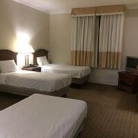 ベッドが3つあるお部屋でした。
