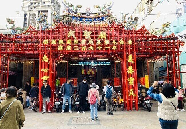 大台北地域で最古の関帝廟