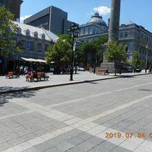 ジャック カルティエ広場