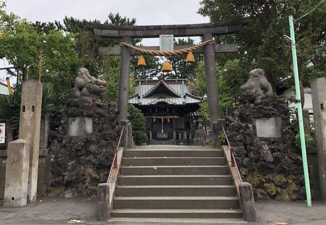東海道の旅人を見守った神社