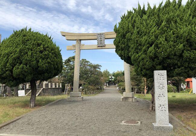 社殿は昭和3年に改築されたもの