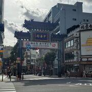 横浜中華街朝陽門