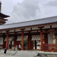 薬師寺 中門