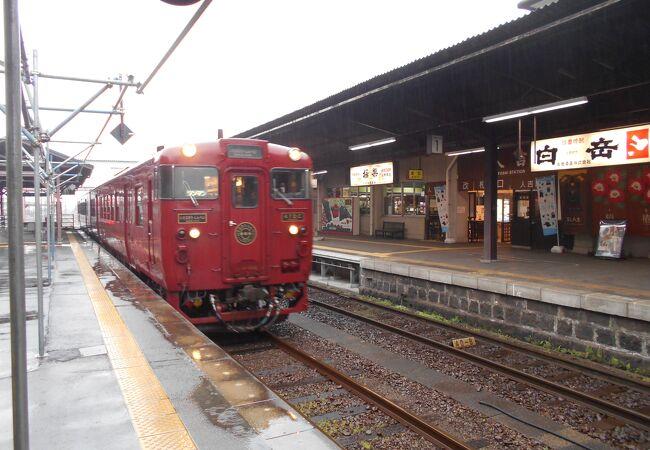 熊本と吉松を結ぶJR肥薩線