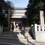 東京のお伊勢さまと言われています。