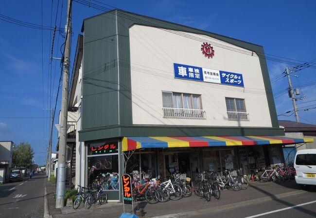 レンタサイクル寺島商会