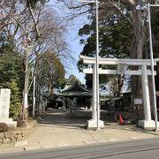 寒川神社の本殿がここに移された