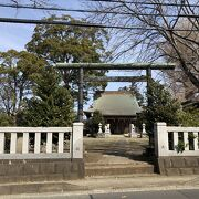寒川神社近くにある