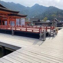 嚴島神社 平舞台